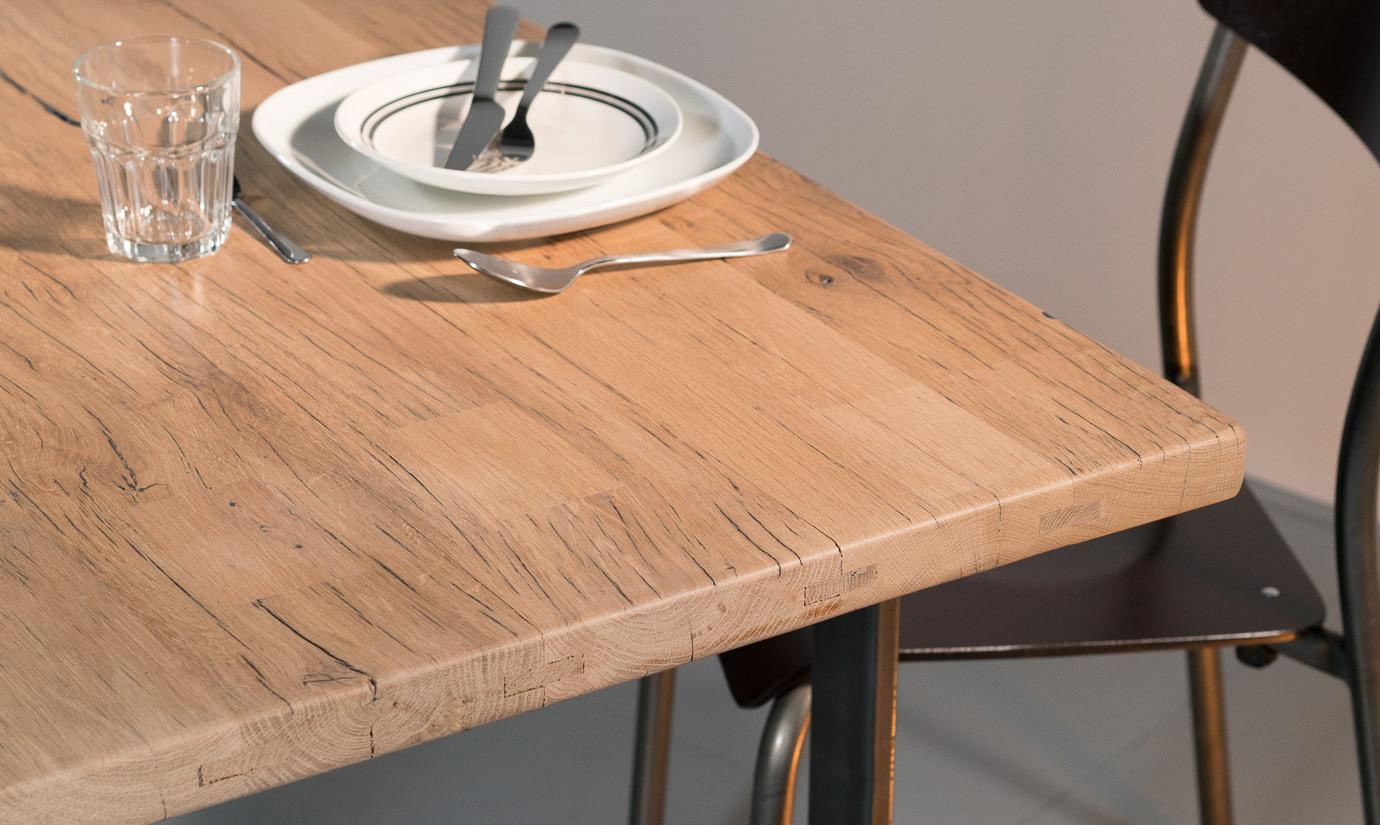 Plateau table bois sur mesure - Bois brut sur mesure ...